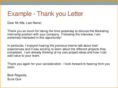 Sle Thank You Letter Format After Thank You Letter After Exles 46 Images Sle Thank You Letter To 22 Free Documents In Word 69