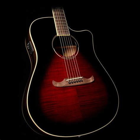Grande Eg10ceqnt Acoustic Electric Guitar fender t 300 ce acoustic electric guitar trans cherry burst the zoo