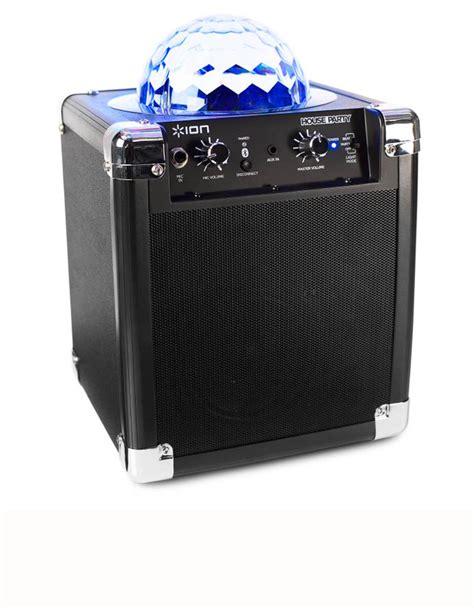 wireless speaker with lights ion wireless speaker system w built in light speakers