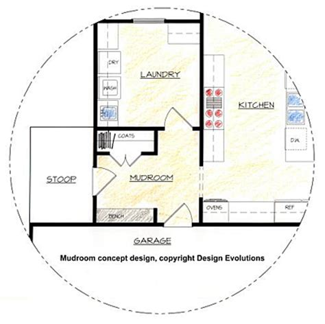 Mudroom Floor Plans Mudrooms Design Evolutions Inc Ga