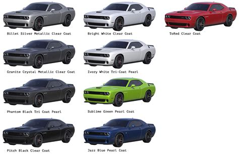 2016 challenger colors 2017 2018 best cars reviews