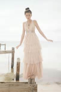blush wedding dress an alternative to ivory 10 inspiring blush wedding dresses for 2013 onefabday