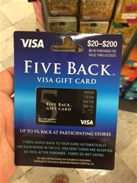 Visa Five Back Gift Card - flyertalk forums view single post five back visa gift card 2016