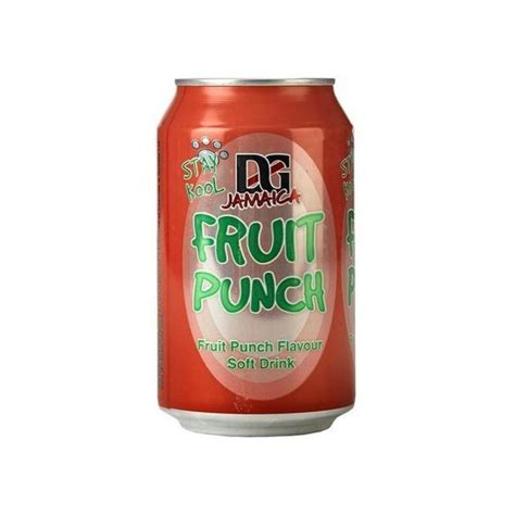 g fruit punch d and g jamaica fruit punch 330ml approved food