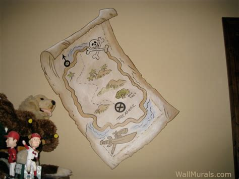 pirate wall mural pirate theme wall murals exles of pirate wall murals