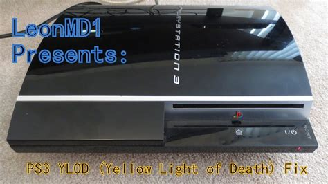 ps3 yellow light of death repair cost ps3 yellow light of death ylod fix youtube