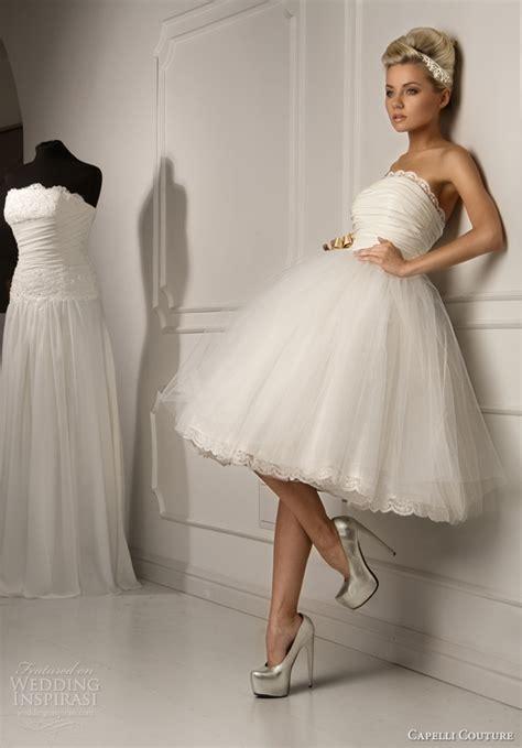 Schlichte Kurze Brautkleider by Collection Of Gown Wedding Dresses For