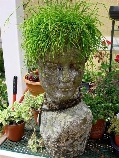 head planter pots for sale female head