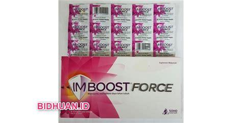 Vitamin Imboost stimuno vs imboost persamaan perbedaan kekurangan dan