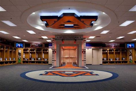locker room auburn hare stadium locker room tours