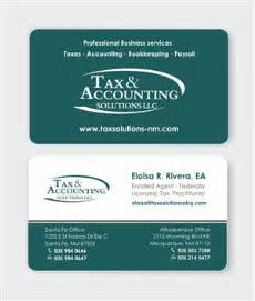 enrolled business cards 41 modern accounting business card designs for a