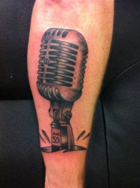 microphone tattoo on arm pin microphone arm tattoo xtattoodesigncom design on pinterest