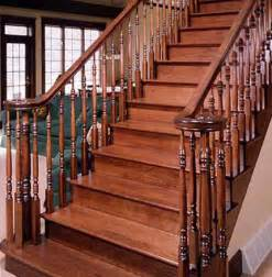 Wood Banisters For Stairs Stairs Railing Designs On Wood Stair Railing Design
