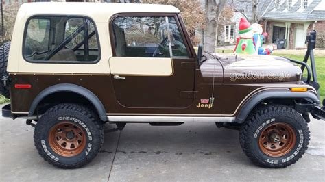 original jeep 1979 original jeep cj7 golden eagle 304 v8 4 speed levi