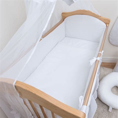 bed bumper all round cot cot bed bumper 4 sided pads with pattern or