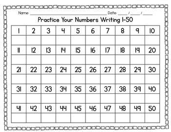 free printable writing numbers 1 100 practice writing numbers 1 100 descargardropbox