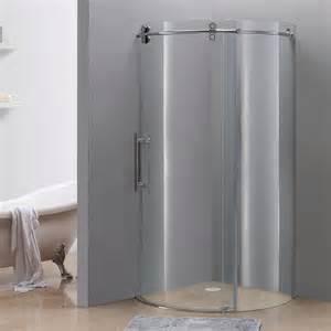 rounded shower doors aston sen980 orbitus frameless shower enclosure