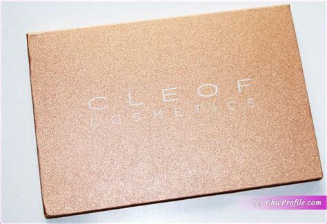 Review Viva Eyeshadow Pressed cleof cosmetics waterproof pressed glitter eyeshadow