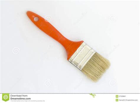 Kuas Cat 2 1 2 Koas Paint Brush paint brush isolated on white background stock image