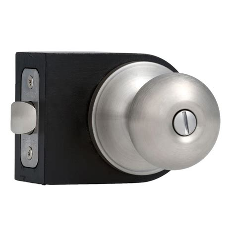 faultless stainless steel privacy knob tf610b f