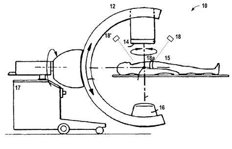 c arm diagram patent us7536219 4d imaging with a c arm x system