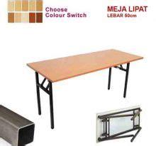 Meja Lipat Panjang Malaysia meja lipat koenig fold panjang 150cm lebar 50cm satu kantor