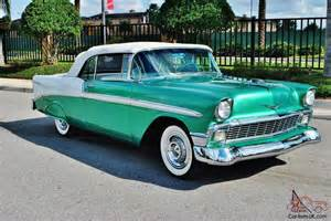 award winner every nut bolt frame 56 chevrolet bel air convertible beautiful