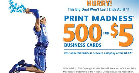 500 Business Cards For 5