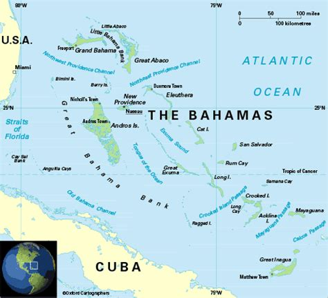 map of us showing bahamas capital das bahamas credito e assine turismo cultura mix