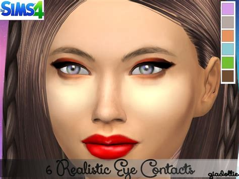 sims 4 realistic eyes 6 realistic eye contacts at tsr 187 sims 4 updates