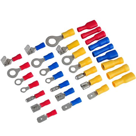 electrical wire connectors crimp 720pc assorted insulated terminal electrical crimp wire