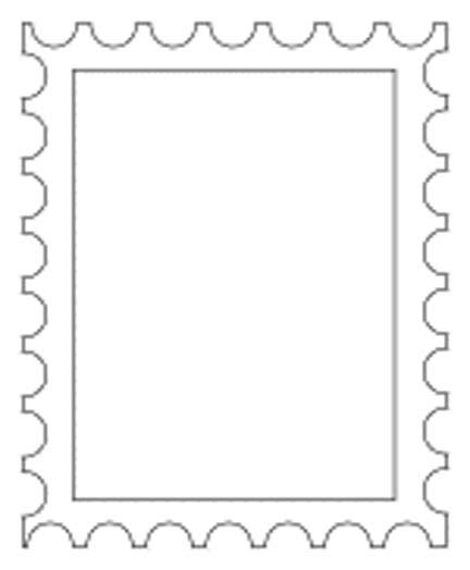 Us Postage St Clipart Clipart Suggest Postage St Design Template