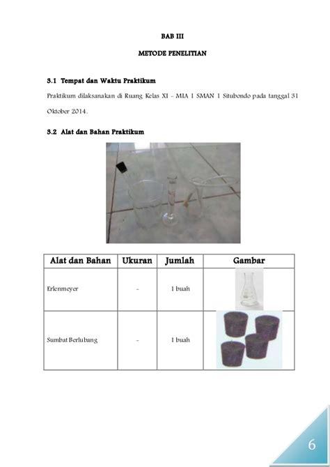 cara membuat laporan praktikum laju reaksi laporan praktikum kimia laju reaksi