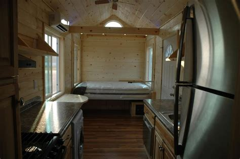 electric bed tiny house bed drops  loft