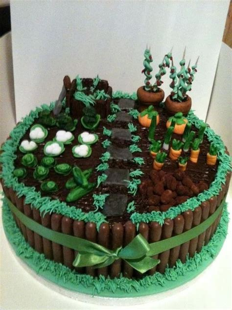 Garden Cakes Ideas 25 Best Ideas About Allotment Cake On Pinterest Vegetable Garden Cake Garden Cakes And