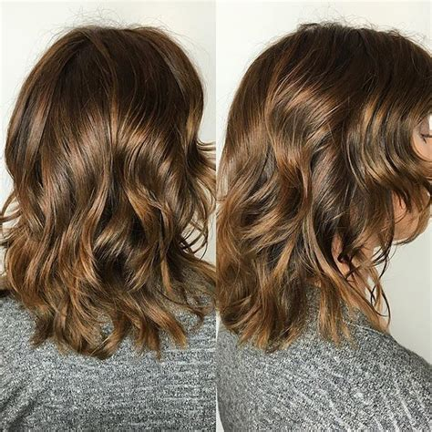 hair styles foil colours 25 brown hair color ideas that are hot right now