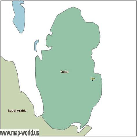 zip code map qatar map of qatar qatar map world map
