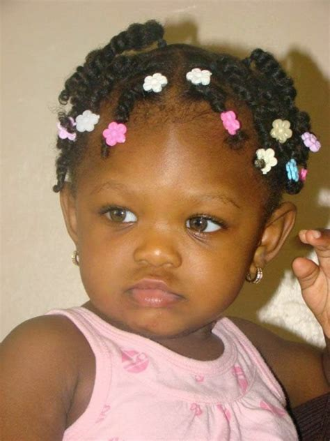 Hairstyles For Infant Girl | picture of cute hair styles for black baby girls