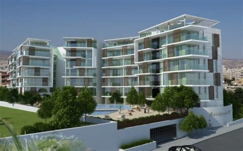 Apartments : Modern Apartment Exterior Design Of Graceful