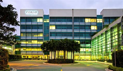 Insead Singapore Mba Review by Insead Singapore Cus 187 Touch Mba