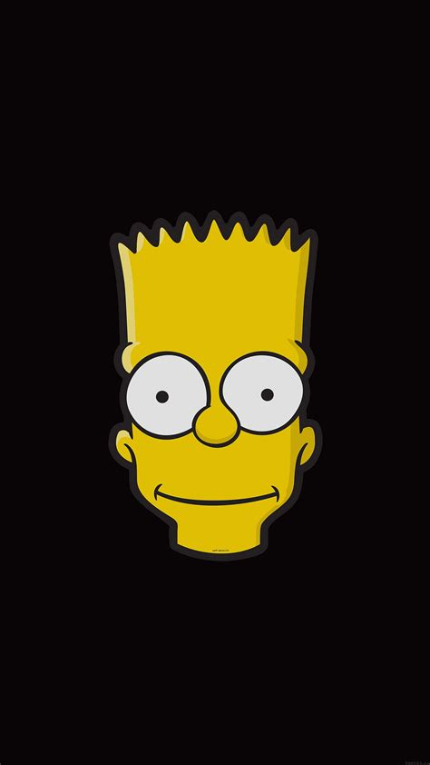 wallpaper iphone 5 simpsons simpsons bart wallpaper for iphone x 8 7 6 free