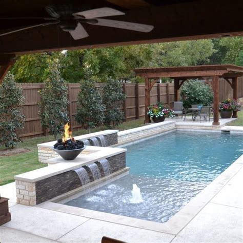 1548 Best Awesome Inground Pool Designs Images On Backyard Pool Design