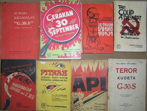 Buku Propaganda Media business kontroversi seputar g30s gerakan 30 september