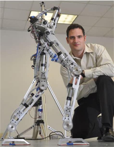 experimental design robotics dc brushless motors power human like bipedal walking robot