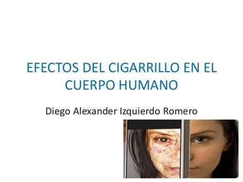 efectos del cigarrillo efectos del cigarrillo en el cuerpo humano