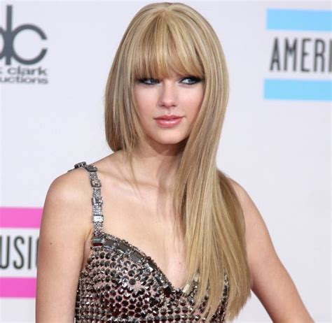 pictures of taylor swift with straight hair and bangs and bob 18 best straight across bangs images on pinterest hair