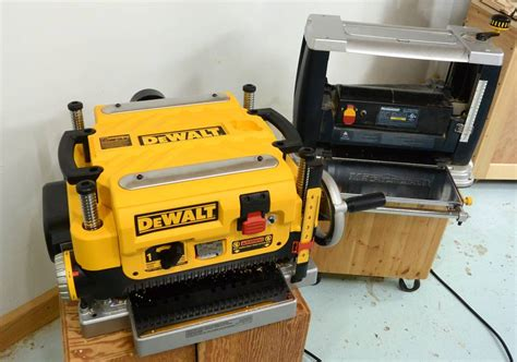 Dewalt Dw735 Thickness Planer Vs A Cheap One Review