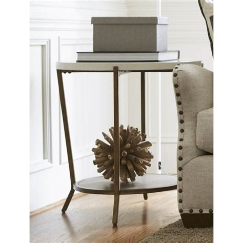 universal furniture playlist 58 round brown eyed girl universal furniture playlist round end table in brown eyed
