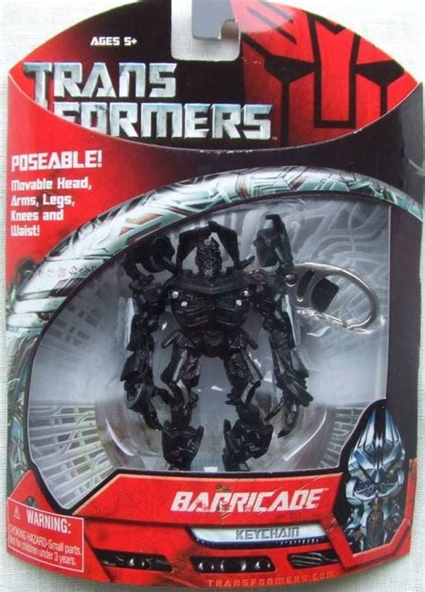 Transformers Barricade Poseable Keychain by Hasbro New In Pack