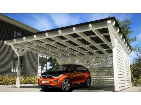 the electric bmw i3 bmw teams up with solarwatt to offer